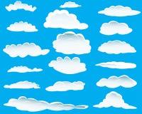 Wolken eingestellt