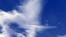 Wolken en Blauwe Hemel Royalty-vrije Stock Foto