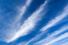 Wolken en Blauwe Hemel Royalty-vrije Stock Fotografie
