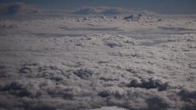 Wolken en blauwe hemel stock footage