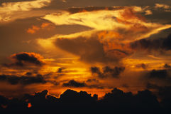 Wolken en hemel Stock Afbeeldingen