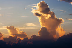 Wolken en hemel Stock Fotografie