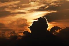 Wolken en hemel Stock Foto's