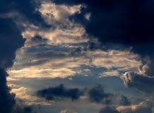 Wolken en hemel Stock Afbeelding