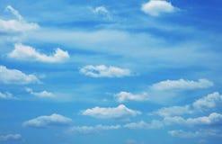 Wolken en hemel royalty-vrije stock foto's