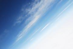 Wolken en hemelen Stock Afbeeldingen
