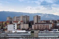 Wolken en landschap royalty-vrije stock afbeelding