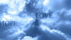 Wolken en Woorden 3 - LIJN stock illustratie