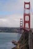 Wolken en Zon | Golden gate bridge Royalty-vrije Stock Afbeelding