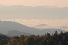Wolken-Fluss Lizenzfreies Stockfoto