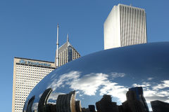 WOLKEN-GATTER CHICAGO Stockfoto