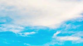 Wolken Geschossen auf Kennzeichen II Canons 5D mit Hauptl Linsen stock video