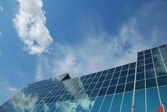 Wolken in glas Royalty-vrije Stock Afbeelding