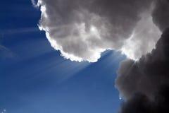 Wolken in hemel Royalty-vrije Stock Afbeelding