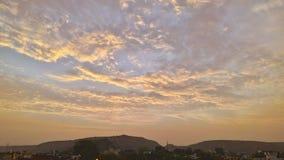 Wolken in Hemel royalty-vrije stock afbeeldingen
