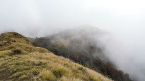 Wolken in Himalays-Berg stock video footage