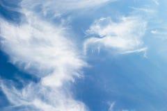 Wolken-Hintergrund Lizenzfreie Stockfotos