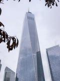 Wolken im einem WTC Lizenzfreie Stockfotos