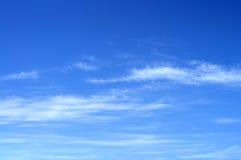 Wolken im Himmel Stockbild