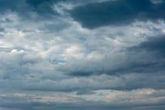 Wolken im Himmel Lizenzfreie Stockbilder