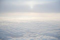Wolken im Himmel Stockfotografie
