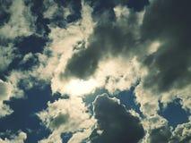 Wolken im Himmel Stockfoto