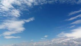 Wolken im Himmel stock video