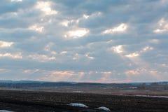 Wolken im Himmel Wolken im Himmel Auch der blaue Himmel ist viele Wolken Stockfoto