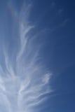 Wolken im Himmel von Jerusalem Lizenzfreies Stockbild