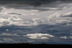 Wolken, Island Lizenzfreie Stockbilder