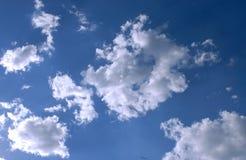 Wolken in Italien Lizenzfreies Stockbild