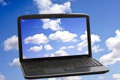 Wolken-Komputertechnologie-Konzept Lizenzfreie Stockfotos