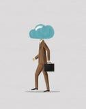Wolken-Kopf lizenzfreie stockfotografie