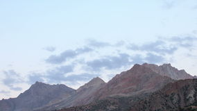 Wolken in licht de het plaatsen zon Geschoten op Canon 5D Mark II met Eerste l-Lenzen Taji stock footage
