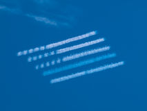 Wolken-Markierungsfahne stockfotos