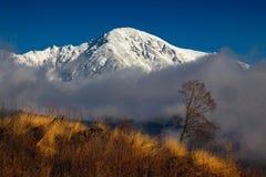 Wolken am Morgen Stockfoto