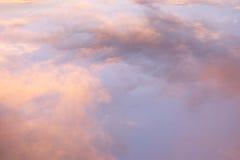 Wolken nach einem Sturm Lizenzfreies Stockbild