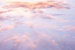 Wolken nach einem Sturm Lizenzfreie Stockfotografie