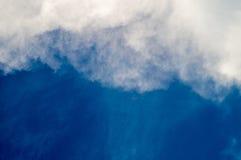 Wolken oder Meereswoge Stockfotos