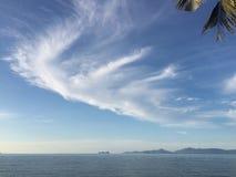 Wolken op de hemel royalty-vrije stock fotografie