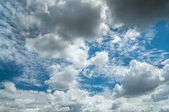 Wolken op de hemel Royalty-vrije Stock Foto