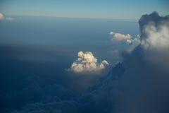 Wolken op de horizon Royalty-vrije Stock Foto's