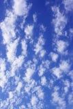 Wolken op hemel royalty-vrije stock afbeeldingen