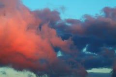 Wolken op hemel Stock Fotografie