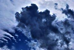 Wolken op hemel Royalty-vrije Stock Foto