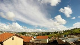 Wolken over Brazilië 1 stock footage