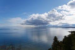 Wolken over Glas Stock Afbeeldingen