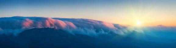 Wolken over Haphal Royalty-vrije Stock Afbeelding