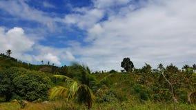 Wolken over Manjuyod-Heuvels 04 Keer Tijdspanne stock videobeelden