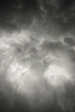 Wolken over meer royalty-vrije stock fotografie